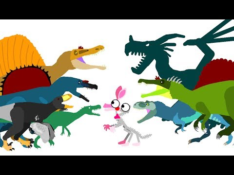 Funny Dinosaurs Cartoons - DinoMania | Dinosaurs and FNAF | Dinosaurs Dragons Godzilla Cartoons