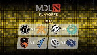 [DOTA 2] Evil Geniuses vs Vici Gaming (BO3) - Playoff Day 3 MDL Chengdu Major
