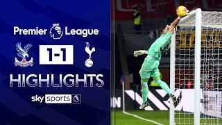Guaita super saves deny Spurs the win! | Crystal Palace 1-1 Tottenham | EPL Highlights