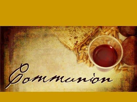 Communion:  Make Me A Servant/Lord, Be Glorified