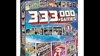 333,000 games in 2 discs! WHAT COULD POSSIBLY GO WRONG?