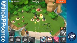 style point 20 single player island boom beach walkthrough