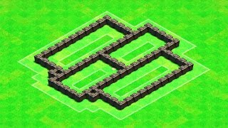 Clash of Clans - BEST Town Hall 4 (TH4) Farming Base Design Layout