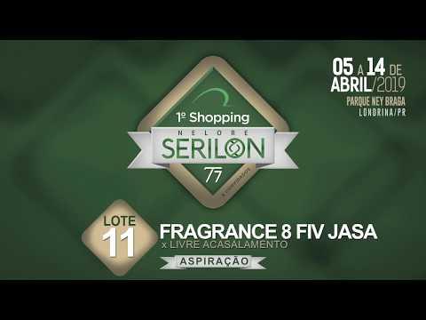 Lote 11   Fragrance 8 Fiv Jasa  (BSAR 68)
