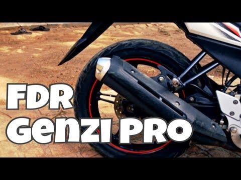 Review Ban FDR Genzi Pro 120-80 Ring 17