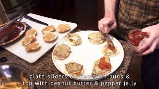 Peanut Butter and Jellyhead Sliders