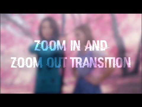 After Effects Zoom Transition