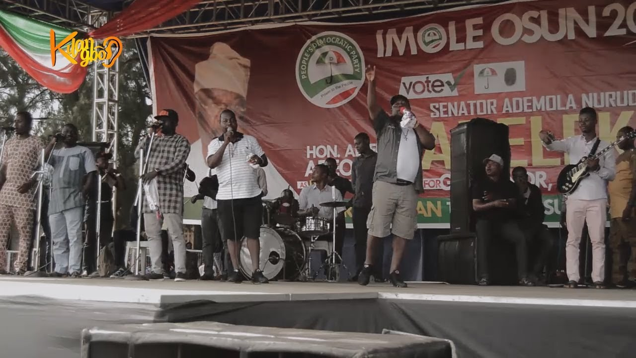 Download Adegbodu twins mocked Aregbesola as they celebrate victory ahead with Ademola Adeleke