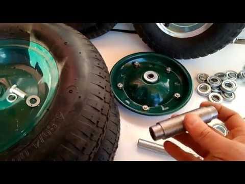 видео Подшипники для садовых и строительных тачек (усиленные)