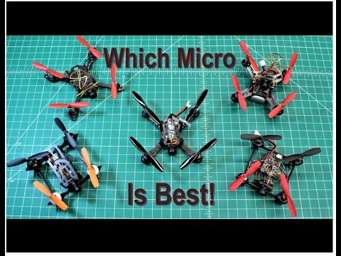 Micro FPV Drones Round-Up  (Gearbest Holiday Gifts) Part 1