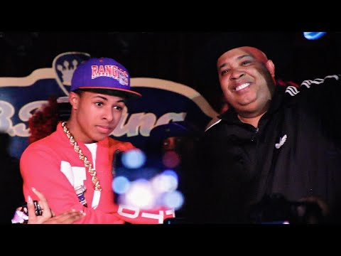 "Diggy Simmons Brings Out Rev Run & Performs ""Rock Box"""