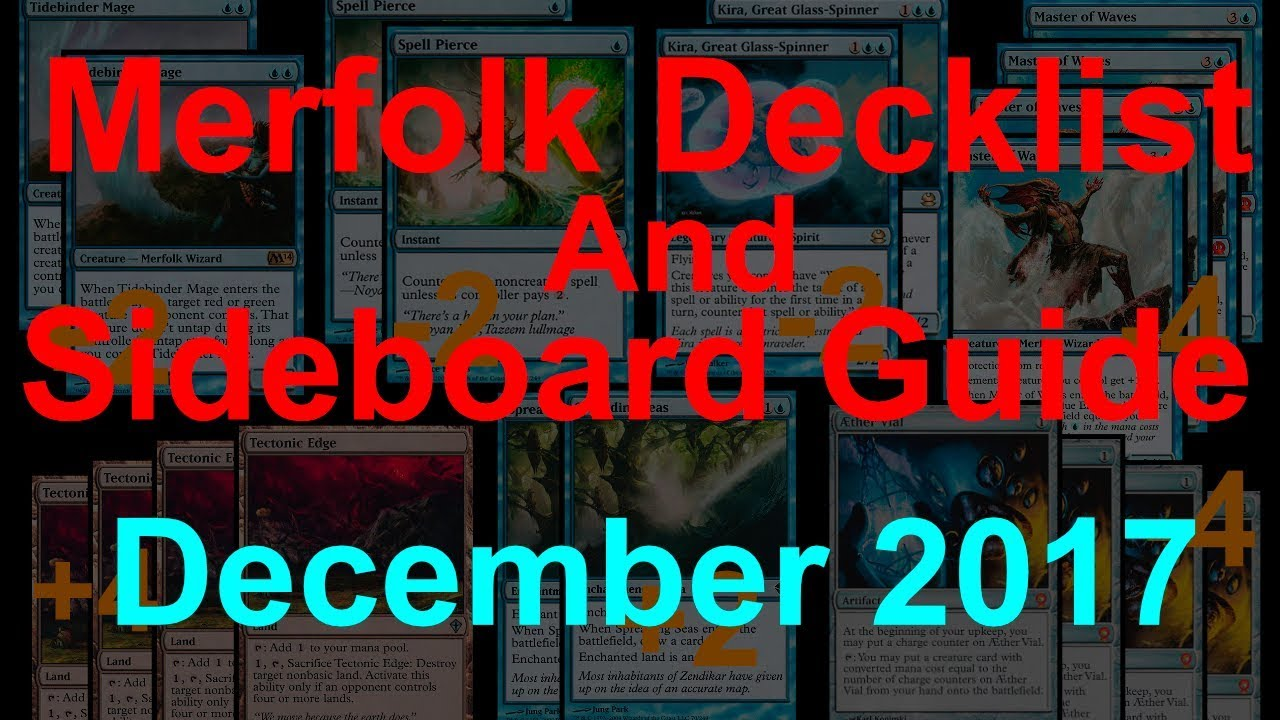 Tropical and Mono Blue Merfolk Decklists and Sideboard Guides ...