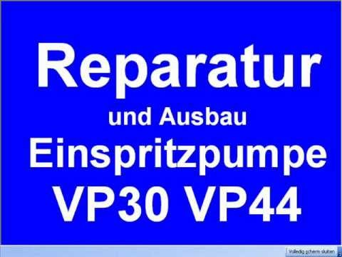 ausbau reparatur einspritzpumpe steuerger t vp30 vp44. Black Bedroom Furniture Sets. Home Design Ideas