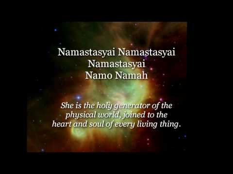 Devi Prayer  Hymn to the Divine Mother