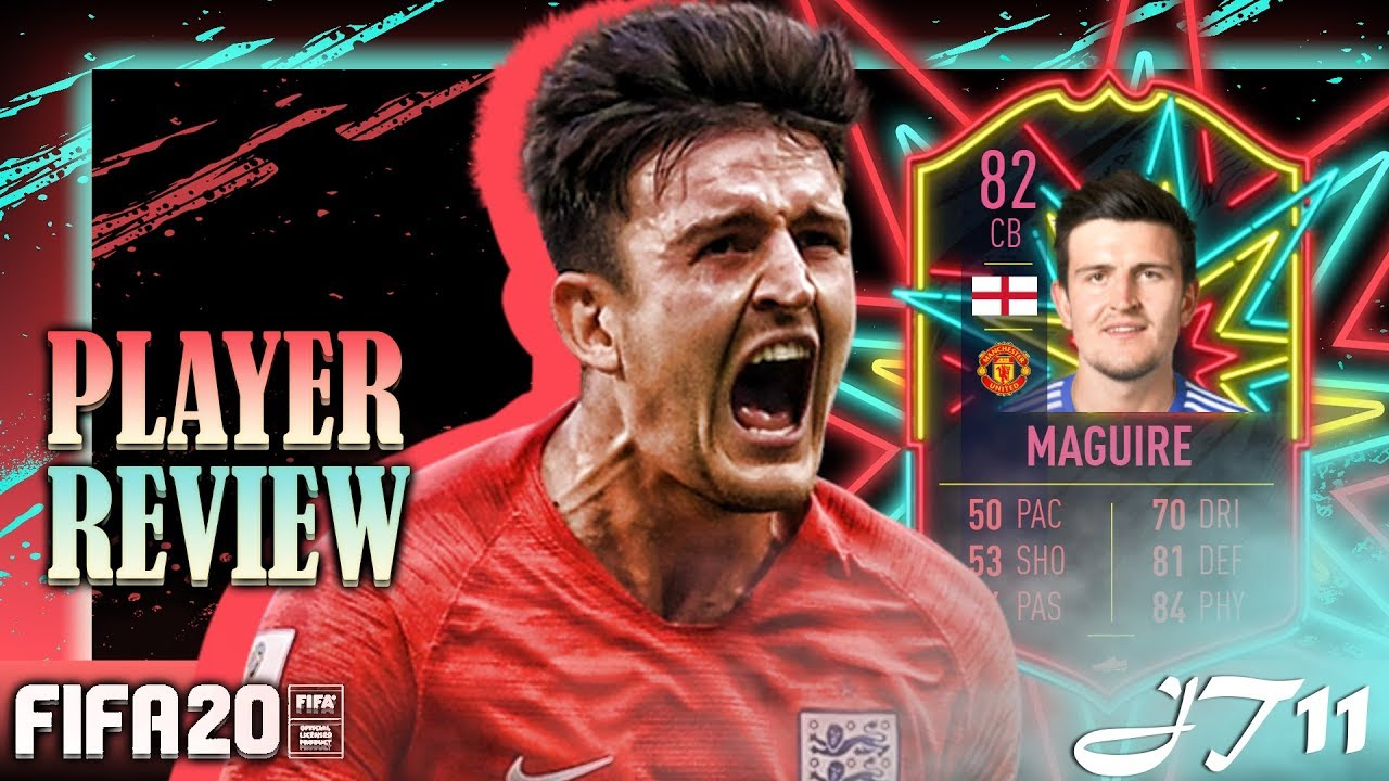 FIFA 20 OTW MAGUIRE PLAYER REVIEW - YouTube