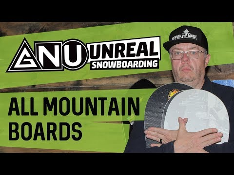 2018 GNU All-Mountain Snowboards - Review - TheHouse.com