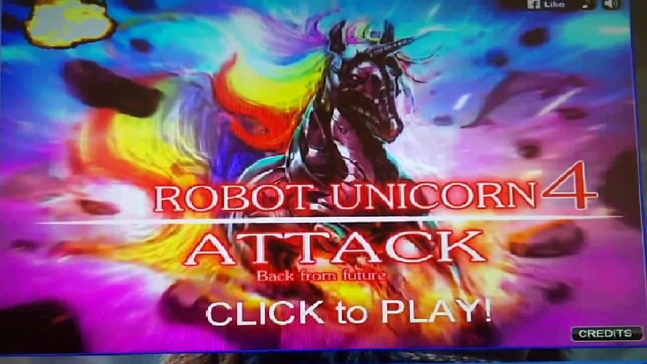 Robot unicorn attack games