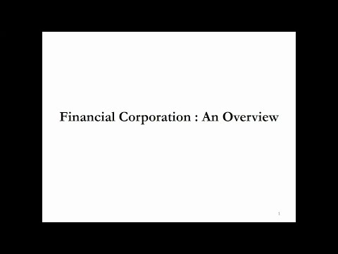 Financial Corporation sector