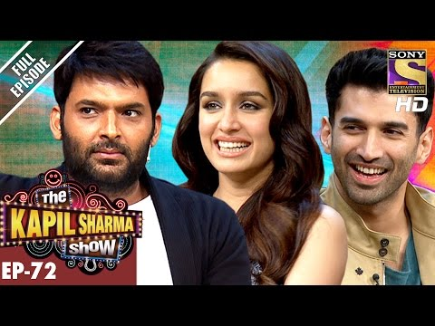 The Kapil Sharma  दी कपिल शर्मा शो Ep72Aditya and Shraddha Kapoor In Kapil –7th Jan 2017