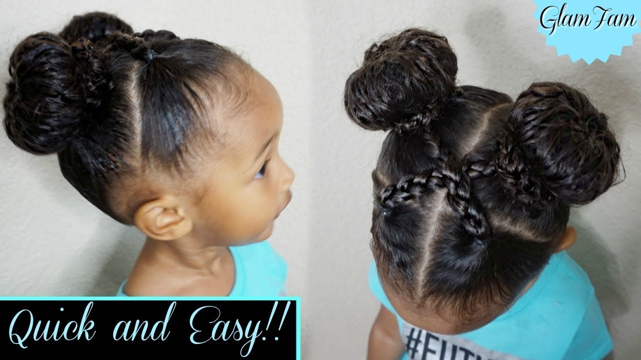 Quick and Easy hairstyle for Kids! | Children\'s Hairstyles | GlamFam ...