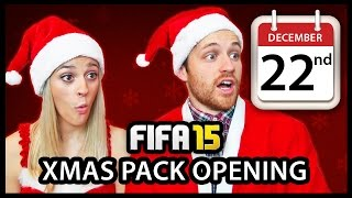 XMAS ADVENT CALENDAR PACK OPENING #22 - FIFA 15 ULTIMATE TEAM Thumbnail