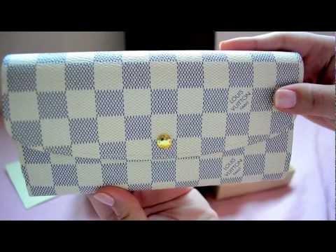 unboxing louis vuitton emilie wallet youtube