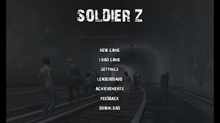 RATS AND ZOMBIES! Let's play: Soldier Z