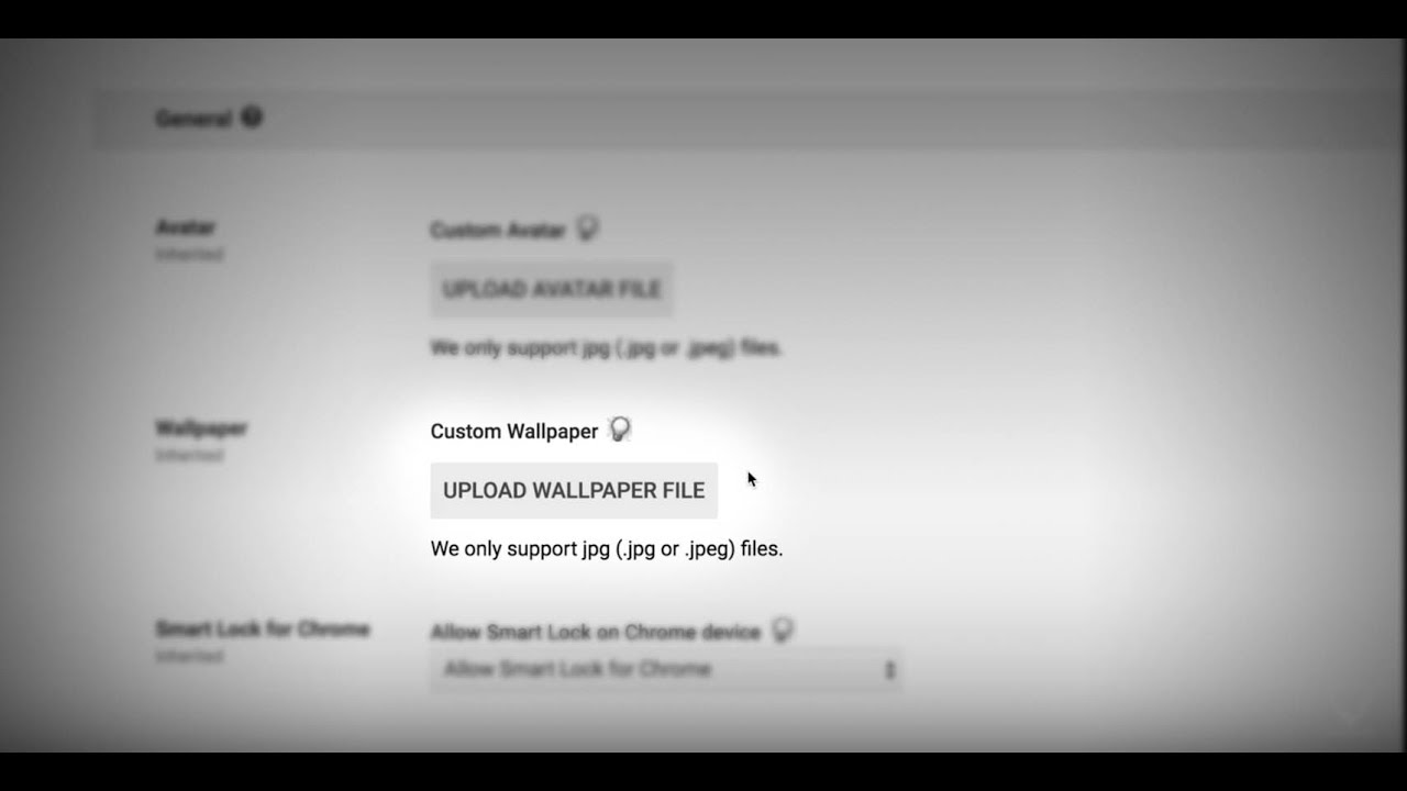 Google Admin Console Tutorial Setting Custom Wallpapers