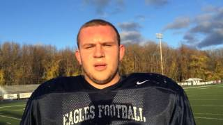 Middletown South OL Joe Rutkowski talks Middletown North