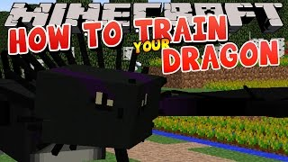 Minecraft - HOW TO TRAIN YOUR DRAGON - Dragon Trainers (1)