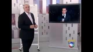 Marcelo Rezende revela no Cidade Alerta com quem Luiz Bacci vai se casar (Rede Record)