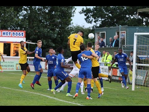Leamington vs Leicester City - Goals & Interview - July 14th 2017