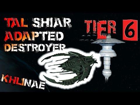 Tal Shiar Adapted Battlecruiser [T6] - Khlinae  – with all ship visuals - Star Trek Online