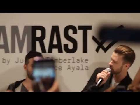 JUSTIN TIMBERLAKE & TRACE AYALA IN TORONTO FOR WILLIAM RAST AT THE BAY