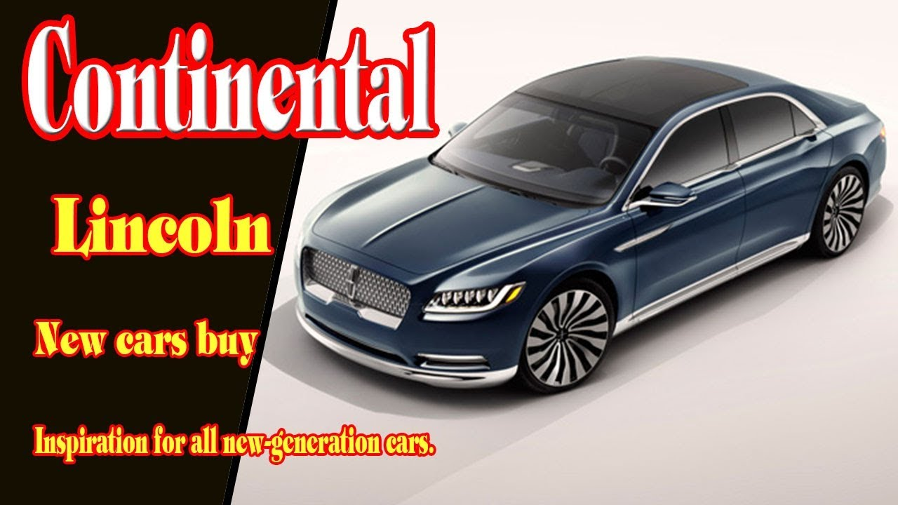 2018 lincoln continental black. Plain Black 2018 Lincoln Continental Review  Black Label  Edition New Cars Buy And