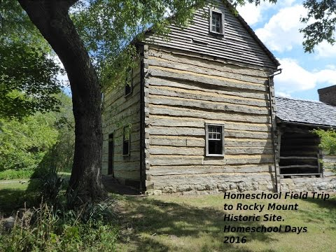 Field Trip to Homeschool Day at Rocky Mount State Historic Site, TN 2016