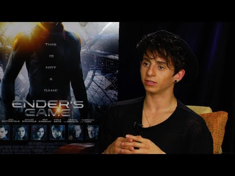 Moises Arias Interview - ENDER'S GAME - This Is Infamous