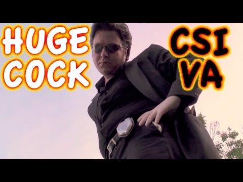 "Huge Cock ""CSI"" Parody ~ Best David Caruso Impression EVER!"