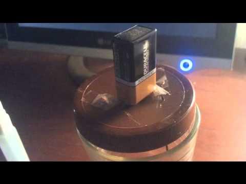Simple Colloidal Silver Generator
