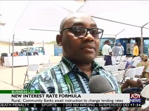 New Interest Rate Formula - Business Live on JoyNews (13-4-18)