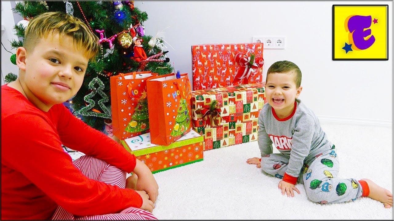 Егорка и его Подарки На НОВЫЙ ГОД !!!