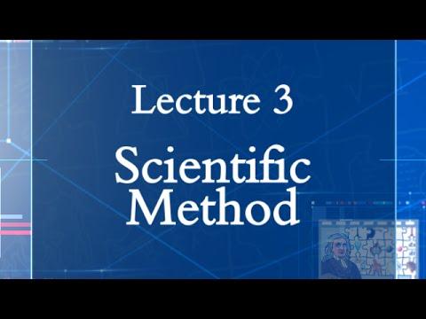 HPS100 Lecture 03: Scientific Method