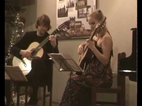 Piazzolla Tango Suite part 1 plays Ilya Zaitsev and Natalia Rodionova