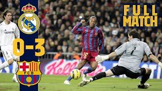 Download FULL MATCH: Real Madrid 0 - 3 Barça (2005) RELIVE RONALDINHO'S GREATEST GAME AT FC BARCELONA!