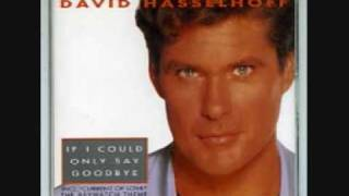 Watch David Hasselhoff If I Could Only Say Goodbye video