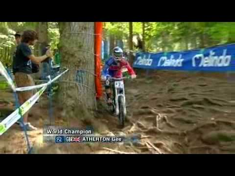 Gee Atherton World Championship win