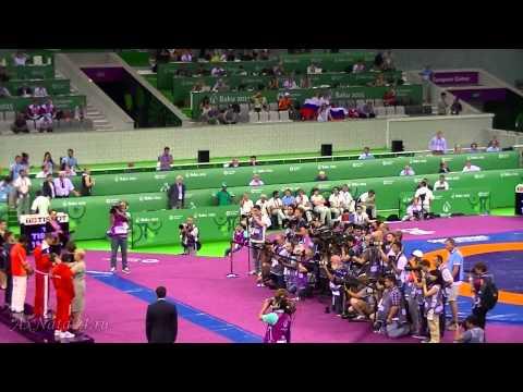Баку 2015 ЕвроИгры.Греко-римская борьба.Финалы:Россия - Армения; Азербайджан - Сербия.