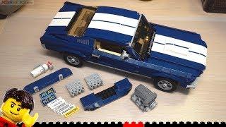 LEGO Build ⏩ Creator Expert Ford Mustang 10265 thumbnail