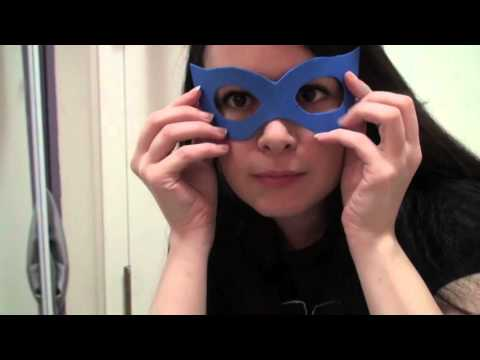 How To Make Your Own Superhero Mask Tutorial