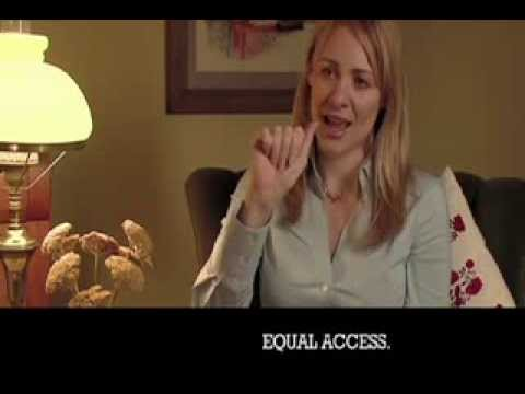 Deanne Bray on the Universal Signs DVD